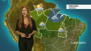 Previsão Norte - Chuva forte e volumosa