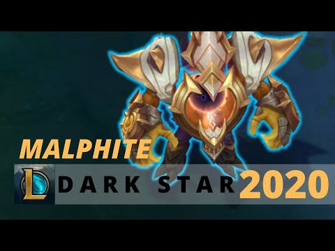 Dark Star Malphite Prestige Edition 2020 - League Of Legends
