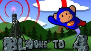 Bloons Tower Defense 4 Full Gameplay Walkthrough