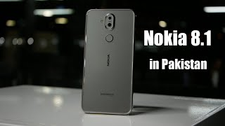 Nokia 8.1 Specifications and Price in Pakistan