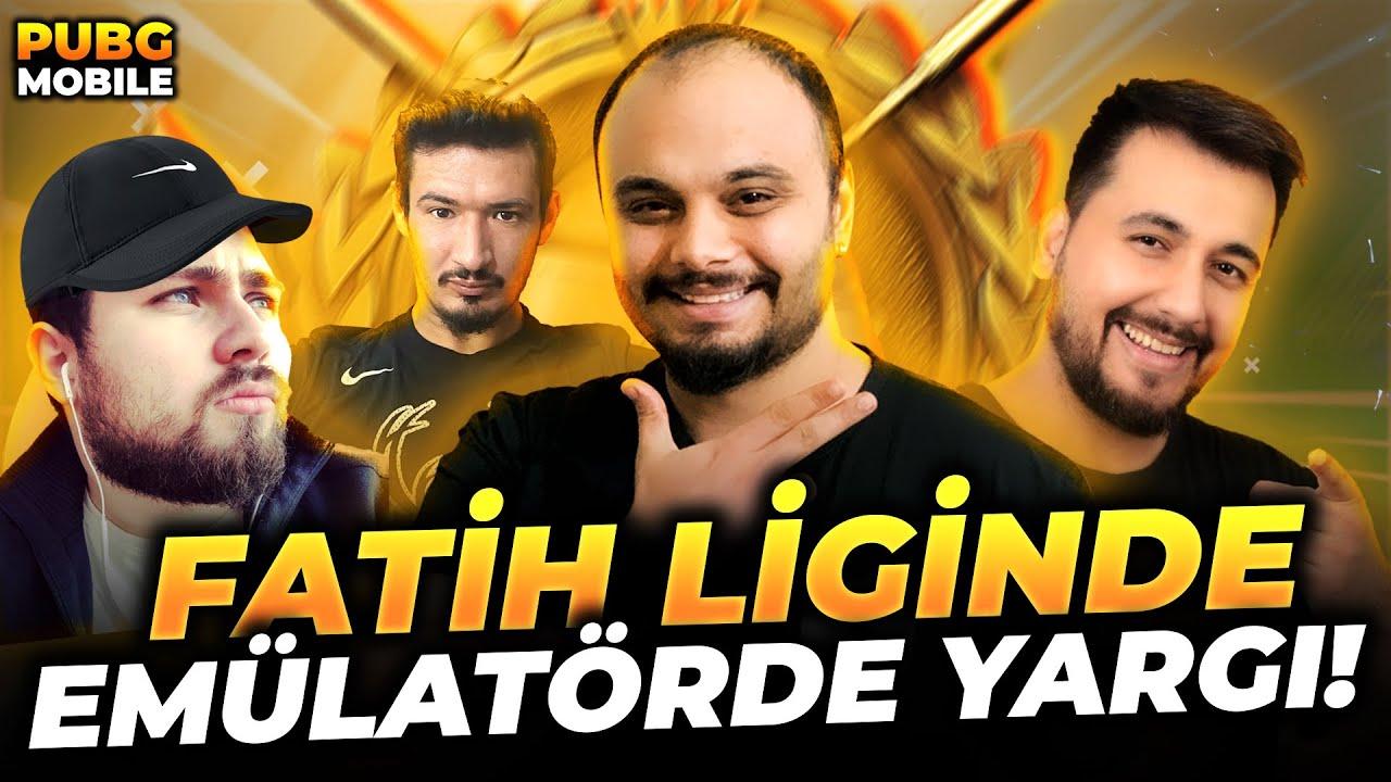 FATİH LİGİNDE EMÜLATÖRDE YARGI ZAMANI !! /PUBG MOBİLE Gameplay