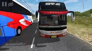 Bus RAYA Full kentut Full Spok..