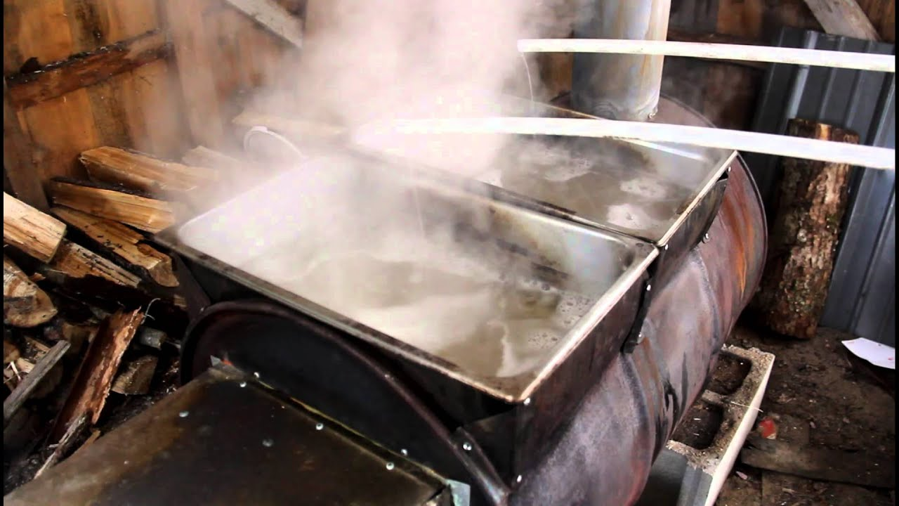 maple syrup evaporator youtube