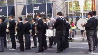 Columbus Day Parade on 5th Avenue in New York City - Clip 1 of 2 - Monday October 12, 2015