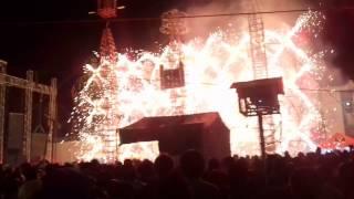 Feria Altepexi 2016 - Quema del castillo completo (09/10/16)