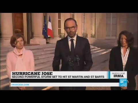 Hurricane Irma: PM Edouard Philippe dispatches security forces to French territories