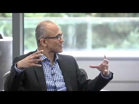 Microsoft CEO - Satya Nadella Interview by Susan Hauser