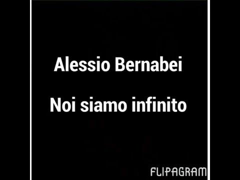 Alessio Bernabei - noi siamo infinito + testo ! [Sanremo 2016]