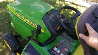 John Deere GT225 RIO Defeat Disable Bypass