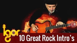 10 Amazing Rock Intro