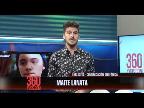 Maite Lanata nos cuenta sobre su personaje en 100 Días para Enamorarse #360yvosTv