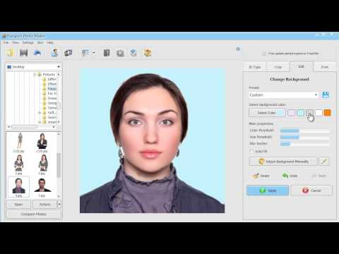 How to Make ID Photos for Online Application (DV Lottery, Gr