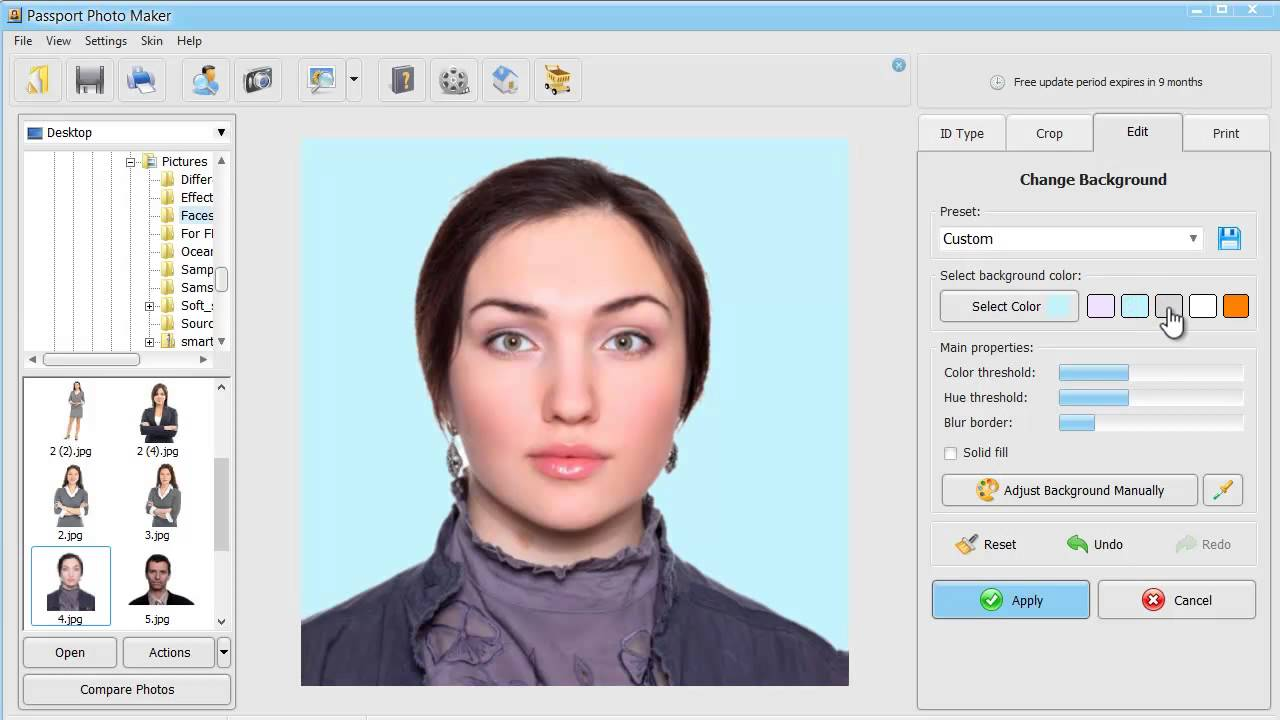 How to Make ID Photos for Online Application DV Lottery