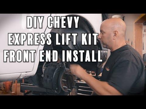 "Chevy Express Van Lift Kit | DIY 5"" Lift Kit Install | Pt. 1"