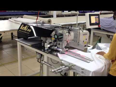 KeKi MJ A02 Computer placket sewing machine 科祺电脑门襟缝纫机