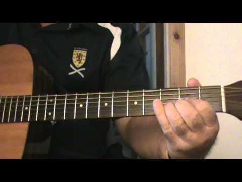 Willie Nelson PANCHO AND LEFTY INTRO GUITAR COVER LESSON.