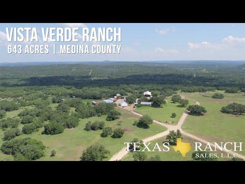 Vista Verde Ranch | 643± Acres in Medina County