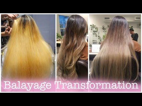 Amazing Balayage Hair Transformation [ NC+ Salon ] | ElaineMokk