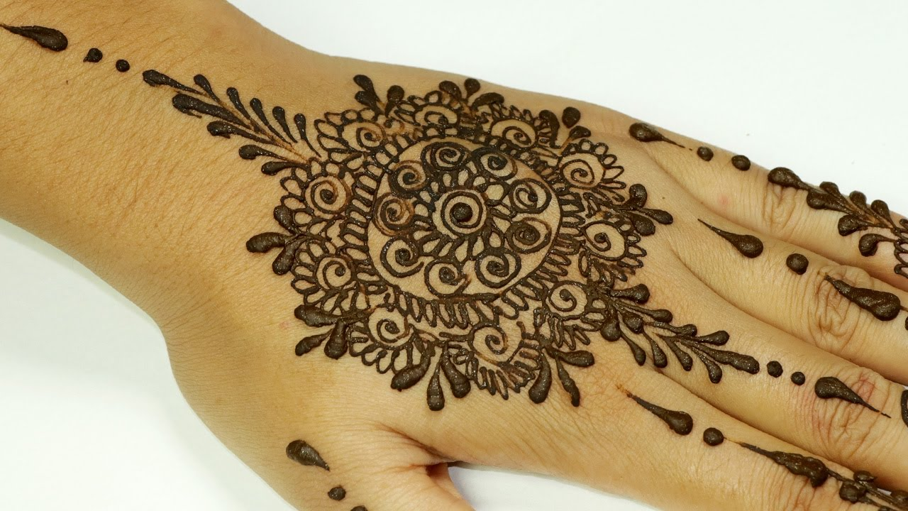 The best mehndi designs for hands livinghours - Creative 0comments Em Simple Indian Mehndi Designs For Hands