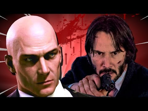 Professional Assassin Vs John Wick Tactics In Hitman 2 Youtube