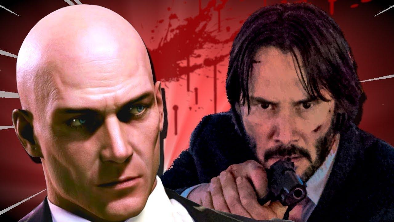 Professional Assassin Vs John Wick Tactics In Hitman 2 Youtube