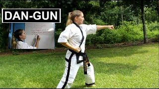 Dan-Gun   Meaning & Step-by-Step   ITF Taekwondo Patterns