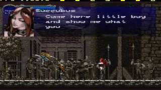 "Castlevania ""Symphony of the Night"" -Boss 12 (Succubus)"