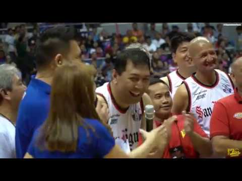 "Alaska VS San Miguel PBA Legends' ""Return of the Rivals"""