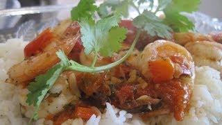 Sauteed Shrimp Recipe Over Rice