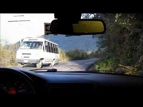 Driving Down the Mountain Cumbres de Monterrey, Mexico