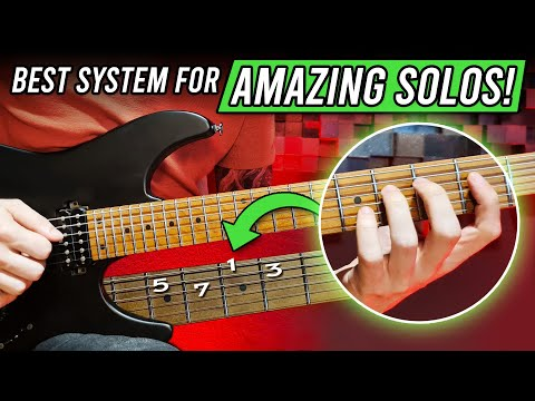 The Best GUITAR SOLO System (fastest way to amazing solos!)