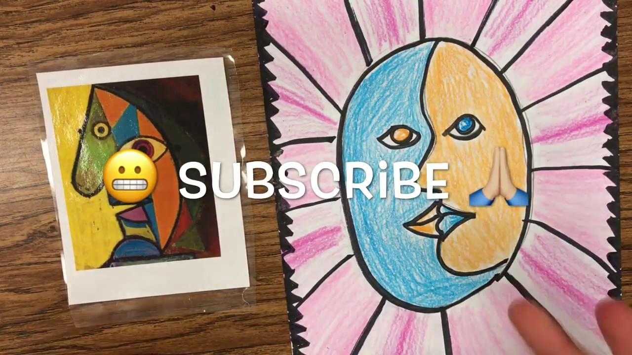 How to make a Picasso FACE - Easy diy Pablo Picasso ...