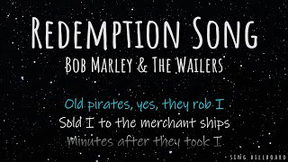 Bob Marley & The Wailers - Redemption Song (Realtime Lyrics)