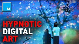 Watch This HYPNOTIC Digital Art Exhibit   [FUTURE BLINK]
