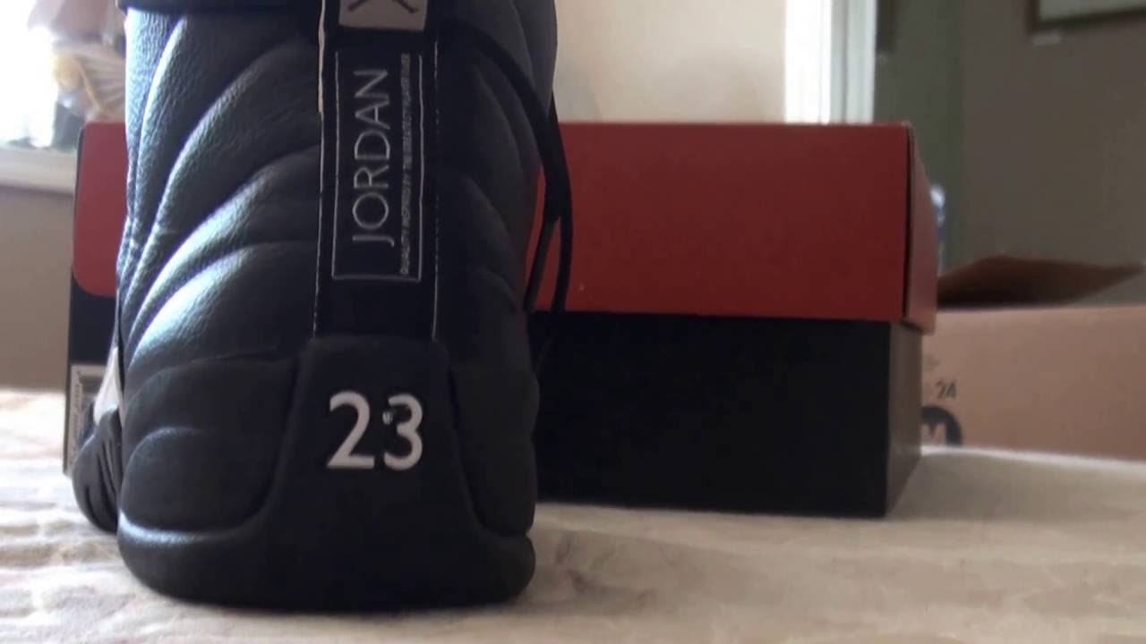 7cfb3493bf9 REAL VS FAKE JORDAN 12 RETRO MASTERS