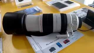 New Canon 100-400 mm L IS II USM