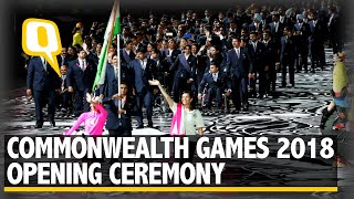 Highlights: The Glittering Commonwealth Games Opening Ceremony