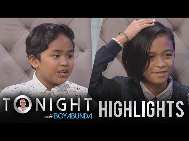TWBA: Francis and Kiefer admit that they were bullied before
