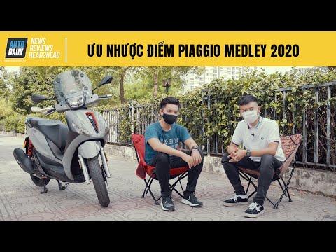 Người dùng đánh giá ưu nhược điểm Piaggio Medley 2020 - Bảo hành 5 năm, yên tâm sử dụng |Autodaily