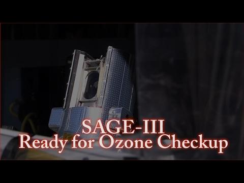 SAGE-III Ready for Ozone Checkup