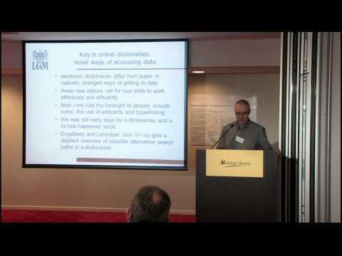 Robert Lew: Online dictionary skills