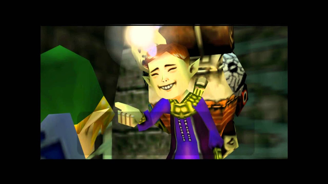 Happy Mask Salesman Majora's Mask - The Ha...
