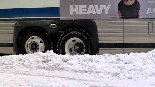 5th Avenue NYC - 27th December 2010 - Gridlock - Snow