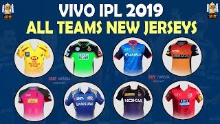 IPL 2019 | All Teams New Jerseys Updated | CSK MI RCB KKR DC RR SRH KXIP