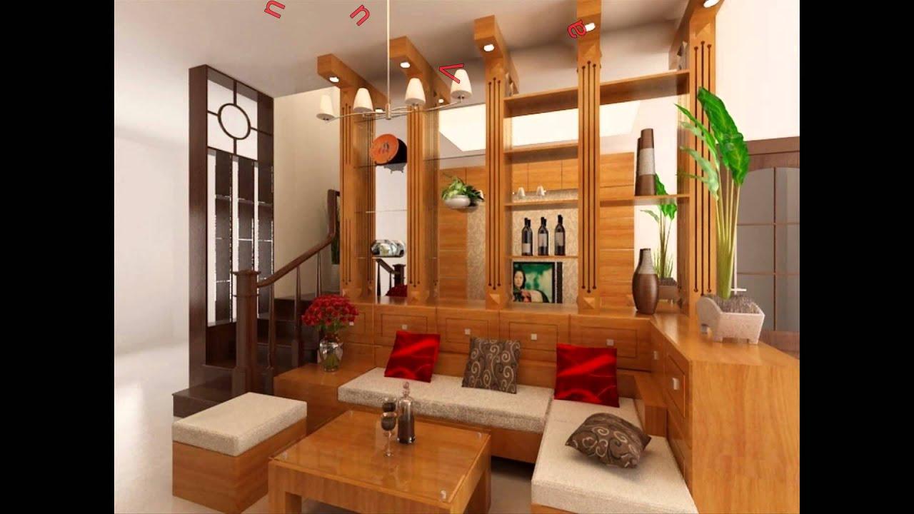Mẫu vách ngăn phòng, vách trang trí bằng gỗ với nhiều thiết kế đẹp