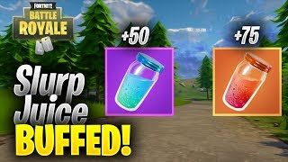 SLURP JUICE BUFFED IN NEXT PATCH? Fortnite: Battle Royale News