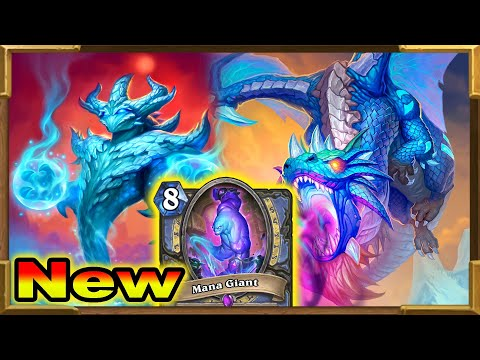 Hearthstone: Brand New Crazy Good Mage Deck With Mana Giant, New Malygos And Chenvaala | New Decks