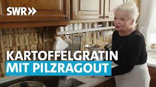 Kartoffelgratin mit Pilzragout I Oma kocht am besten