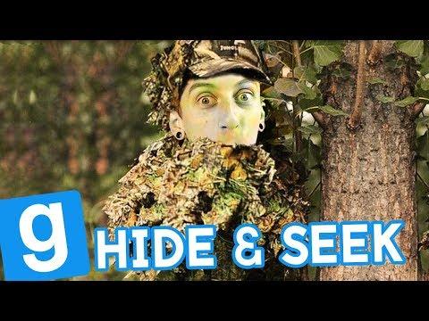 ALIEN I STRÓJ KAMUFLUJĄCY! | Garry's mod (With: EKIPA) #753 - Hide & Seek [#67]