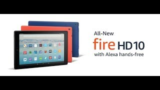 All New Fire HD 10 Tablet with Alexa Hands Free | Fire HD 10 2017 Unboxing | Amazon Fire HD 10